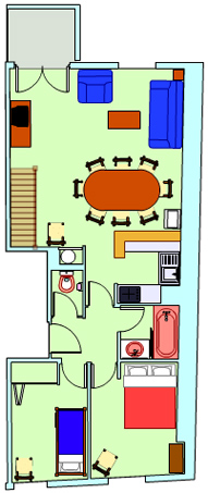 Plan appartement vignemale