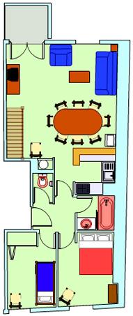 Plan appartement vignemale